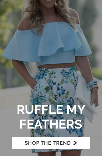 Ruffle My Feather
